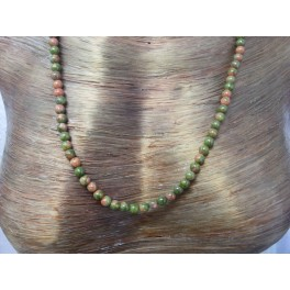 Colliers Perle Unakite