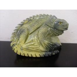 Iguane en serpentine